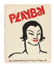 ART JOURNALS.  ARENS, EGMONT; editor and publisher. Playboy: A Portfolio of Art & Satire.