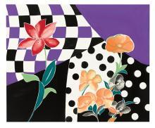 COSTUME / FASHION. Sloan, Gino. Four fabric designs.