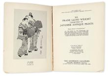 JAPANESE PRINTS. Wright, Frank Lloyd. The Frank Lloyd Wright Collection of Japanese Antique Prints . . . to be sold by order of Bank