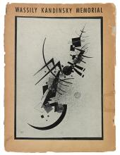 KANDINSKY, WASSILY. Rebay, Hilla. Wassily Kandinsky Memorial. Advance Copy with Typed Letter Signed