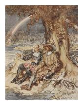 RACKHAM, ARTHUR. Walton, Izaak. The Compleat Angler.