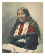 (AMERICAN INDIANS--PHOTOGRAPHS.) Heyn, [Herman.] Stella Yellow Shirt.