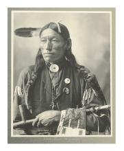 (AMERICAN INDIANS--PHOTOGRAPHS.) Rinehart, Frank A. Little Bird, Arapahoe.