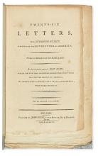 (AMERICAN REVOLUTION--HISTORY.) Adams, John. Twenty-Six Letters upon Interesting Subjects, Respecting the Revolution in America.