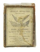 (AMERICAN REVOLUTION--HISTORY.) Norwood, Nora. Card game titled