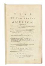 (AMERICAN REVOLUTION--HISTORY.) Smyth, John Ferdinand Dalziel. A Tour in the United States of America.