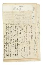 (ART.) Correspondence of prominent Boston art critic and curator Sylvester Rosa Koehler.