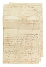(CANADA.) Family correspondence and land records of an American Loyalist relocated to Nova Scotia.