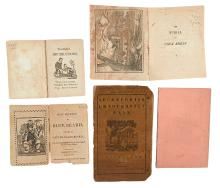 (CHILDREN'S BOOKS.) Group of 5 early illustrated children's books in original wrappers.