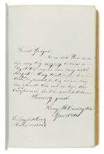 (CONNECTICUT.) Autograph book for the Yale Class of 1845.