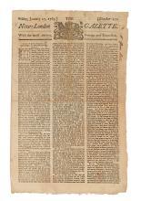 (CONNECTICUT.) The New-London Gazette.
