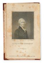 HAMILTON, ALEXANDER. The Works of Alexander Hamilton.   3 vols.  1810
