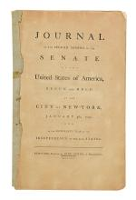(LAW.) Journal of the Second Session of the Senate of the United States.