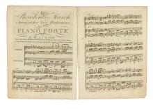 (MUSIC.) The President's March, Arranged for Two Performers on One Piano Forte.