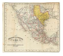 (TEXAS.) [Folsom, George F.] Mexico in 1842 . . . to which is Added, an Account of Texas and Yucatan.