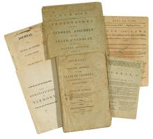 (VERMONT.) Collection of early Vermont acts and laws.