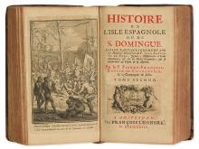 (HAITI.) Charlevoix, Pierre François Xavier de. Histoire de l'Isle Espagnole ou de S. Domingue.