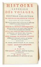 (TRAVEL.) Prévost d'Exiles, Antoine François. Histoire Generale des Voyages, ou Nouvelle Collection de Toutes les Relations de Voyages
