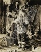LOMEN BROTHERS Pair of photographs depicting the Eskimo of Alaska's Kaviagamutes Wolf Dancers.