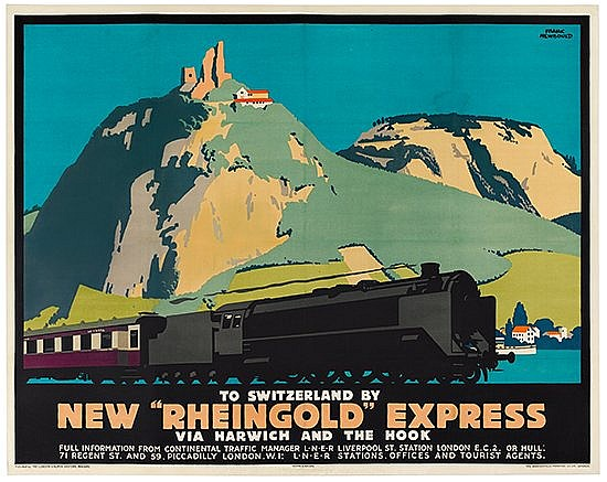 POSTER: FRANK NEWBOULD (1887-1950). NEW
