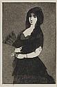 ÉDOUARD MANET Fleur Exotique (La Femme a la Mantille).