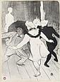 HENRI TOULOUSE-LAUTREC Folies Bergère, les Pudeurs de Monsieur Prudhomme.