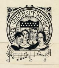ELIZABETH CATLETT (1915 - 2012) Howard University Choir.