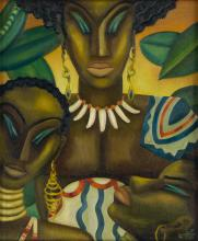 LOÏS MAILOU JONES (1905 - 1998) Africa.