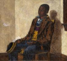AARON DOUGLAS (1899 - 1979) The Street Urchin.