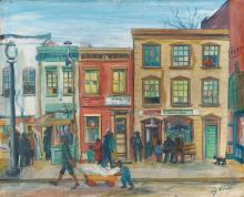LOÏS MAILOU JONES (1905 - 1998) 7th Street Promenade.