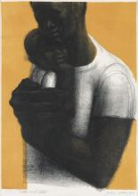 JOHN WILSON (1912 - 2015) Father and Child.