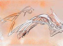RICHARD HUNT (1935 -   ) Untitled.
