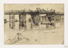 JAMES A. M. WHISTLER Old Putney Bridge.