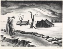 THOMAS HART BENTON Flood.