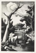 THOMAS HART BENTON Shallow Creek.
