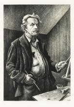 THOMAS HART BENTON Self-Portrait.