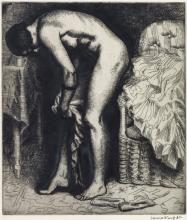 LAURA KNIGHT Two prints.