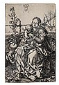 HEINRICH ALDEGREVER Madonna and Child Seated on a Grassy Bank., Heinrich Aldegrever, Click for value