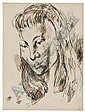 CHARLES WHITE (1918 - 1979) Collection of 31 early sketchbook drawings., Charles Wilbert White, Click for value