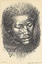 CHARLES WHITE (1918 - 1979) Head.