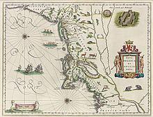 BLAEU, WILLEM. Nova Belgica et Anglia Nova.