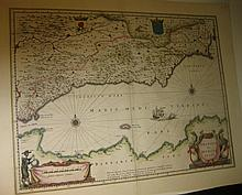 BLAEU, WILLEM and JAN. Granata et Murcia.