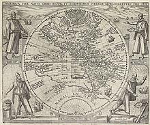 DE BRY, THEODORE. America sive Novus Orbis Respectu Europaeorum Inferior Globi Terrestris.