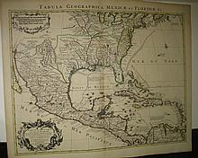 DELISLE, GUILLAUME. Carte du Mexique et de la Floride.