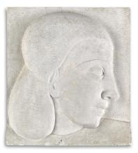 SARGENT JOHNSON (1888 - 1967) Untitled (Head of an Athlete).