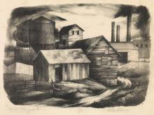 ROBERT BLACKBURN (1920 - 2003) Upper New York II.