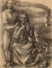 JAMES C. MCMILLAN (1925 -   ) Sharecroppers.