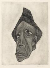 JAMES LEE (1927 - 1976) Untitled (Man Wearing a Hat).
