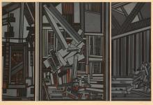 MAVIS PUSEY (1928 -  ) Within Manhattan.