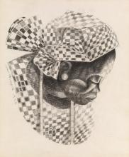 JOHN BIGGERS (1924 - 2001) African Mamma.